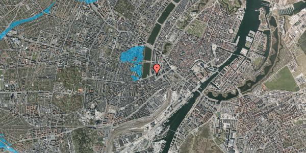 Oversvømmelsesrisiko fra vandløb på Gammel Kongevej 1, 2. tv, 1610 København V