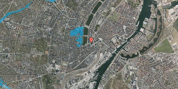Oversvømmelsesrisiko fra vandløb på Gammel Kongevej 1, 5. tv, 1610 København V
