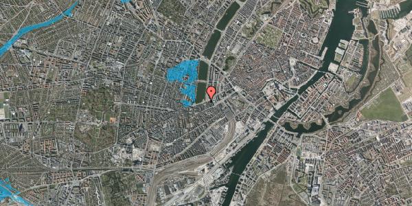 Oversvømmelsesrisiko fra vandløb på Gammel Kongevej 9, 2. tv, 1610 København V