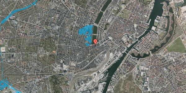 Oversvømmelsesrisiko fra vandløb på Gammel Kongevej 21B, 2. tv, 1610 København V