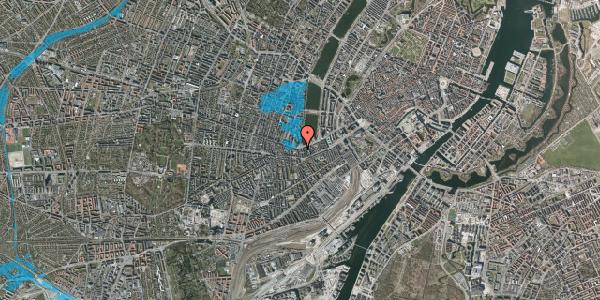 Oversvømmelsesrisiko fra vandløb på Gammel Kongevej 29B, 1. tv, 1610 København V