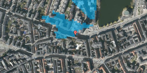 Oversvømmelsesrisiko fra vandløb på Gammel Kongevej 33B, 3. tv, 1610 København V