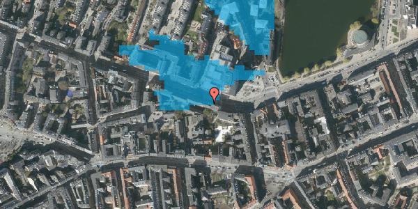 Oversvømmelsesrisiko fra vandløb på Gammel Kongevej 33B, 5. tv, 1610 København V