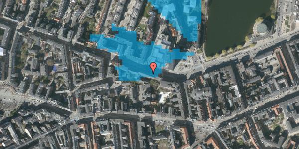 Oversvømmelsesrisiko fra vandløb på Gammel Kongevej 35A, 3. tv, 1610 København V