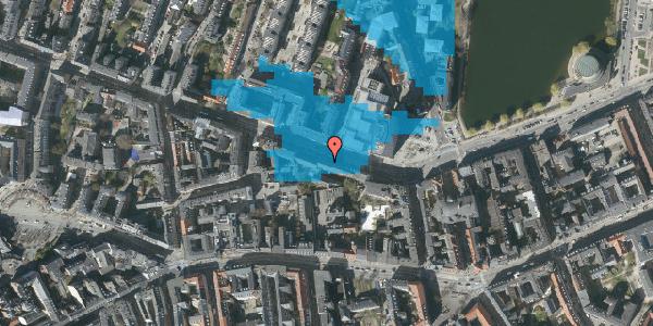 Oversvømmelsesrisiko fra vandløb på Gammel Kongevej 35B, 3. tv, 1610 København V