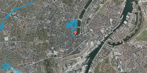 Oversvømmelsesrisiko fra vandløb på Gammel Kongevej 35D, 1. tv, 1610 København V