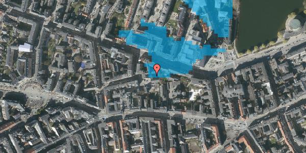 Oversvømmelsesrisiko fra vandløb på Gammel Kongevej 39F, 1. 2, 1610 København V