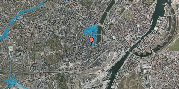 Oversvømmelsesrisiko fra vandløb på Gammel Kongevej 47A, 3. tv, 1610 København V