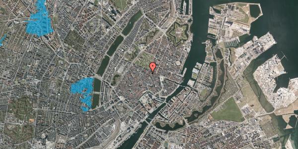 Oversvømmelsesrisiko fra vandløb på Gammel Mønt 10, st. , 1117 København K
