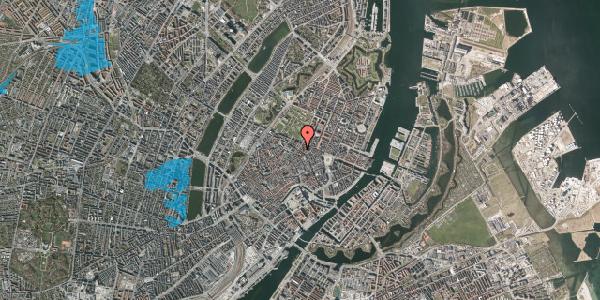 Oversvømmelsesrisiko fra vandløb på Gammel Mønt 14, 1. tv, 1117 København K