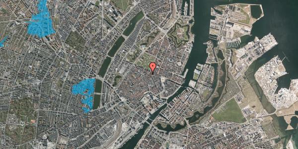 Oversvømmelsesrisiko fra vandløb på Gammel Mønt 14, 3. tv, 1117 København K