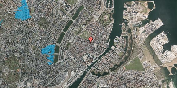Oversvømmelsesrisiko fra vandløb på Gammel Mønt 17, kl. tv, 1117 København K