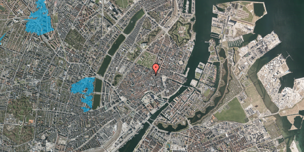 Oversvømmelsesrisiko fra vandløb på Gammel Mønt 17, 1. , 1117 København K