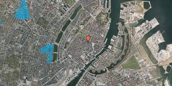 Oversvømmelsesrisiko fra vandløb på Gammel Mønt 19, st. , 1117 København K
