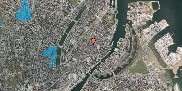 Oversvømmelsesrisiko fra vandløb på Gammel Mønt 21, 3. , 1117 København K