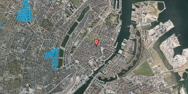 Oversvømmelsesrisiko fra vandløb på Gammel Mønt 25, kl. , 1117 København K
