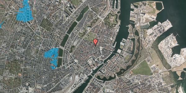 Oversvømmelsesrisiko fra vandløb på Gammel Mønt 25, 1. , 1117 København K