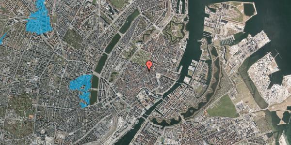 Oversvømmelsesrisiko fra vandløb på Gammel Mønt 27, st. , 1117 København K