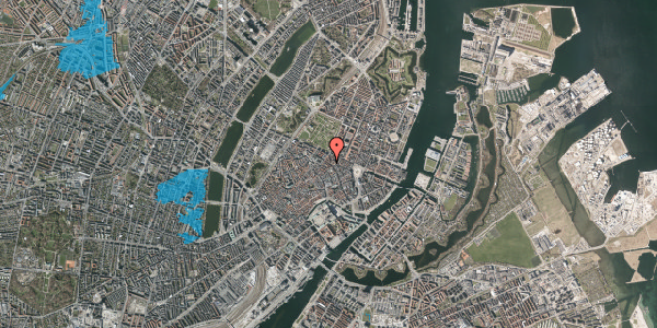 Oversvømmelsesrisiko fra vandløb på Gammel Mønt 29, kl. , 1117 København K