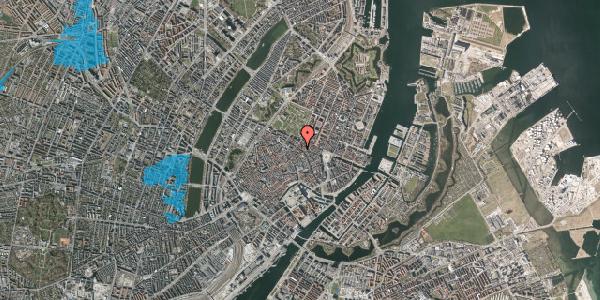 Oversvømmelsesrisiko fra vandløb på Gammel Mønt 29, st. , 1117 København K