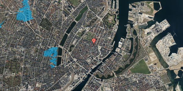 Oversvømmelsesrisiko fra vandløb på Gammel Mønt 29, st. 3, 1117 København K
