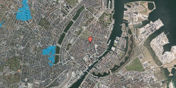 Oversvømmelsesrisiko fra vandløb på Gammel Mønt 31, st. , 1117 København K