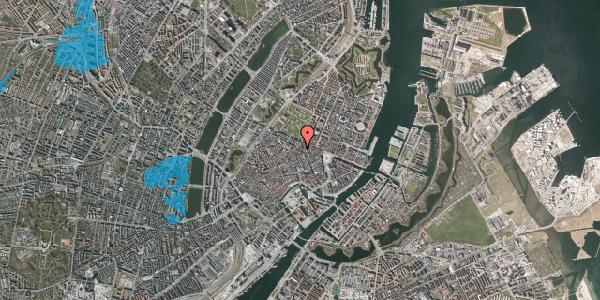 Oversvømmelsesrisiko fra vandløb på Gammel Mønt 33, 1. , 1117 København K