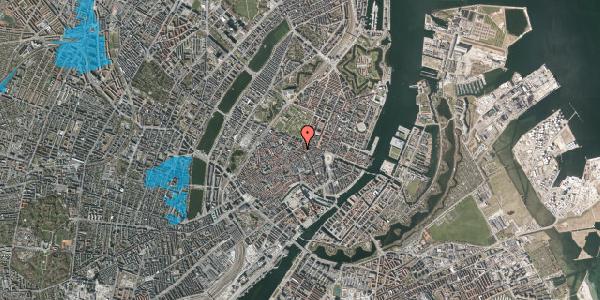 Oversvømmelsesrisiko fra vandløb på Gammel Mønt 37, st. , 1117 København K