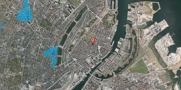 Oversvømmelsesrisiko fra vandløb på Gammel Mønt 37, 3. , 1117 København K