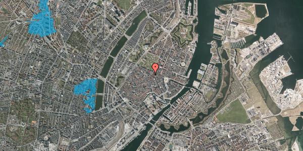Oversvømmelsesrisiko fra vandløb på Gammel Mønt 39, st. tv, 1117 København K