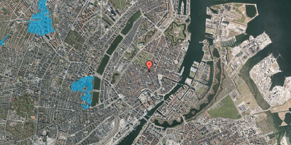 Oversvømmelsesrisiko fra vandløb på Gammel Mønt 41, 2. th, 1117 København K