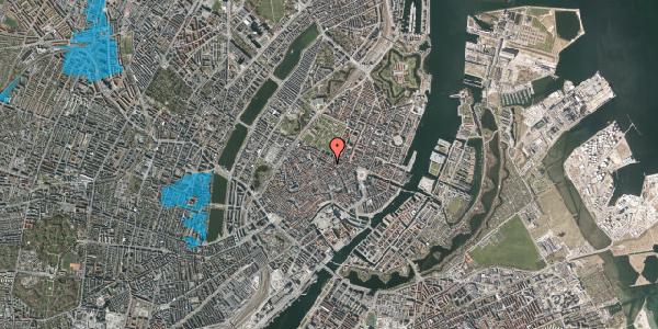 Oversvømmelsesrisiko fra vandløb på Gammel Mønt 41, 2. tv, 1117 København K