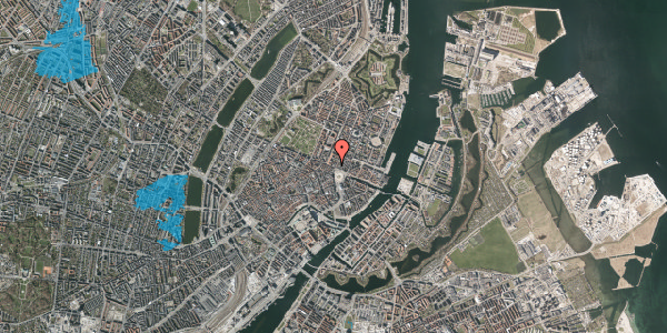 Oversvømmelsesrisiko fra vandløb på Gothersgade 2, 1. th, 1123 København K