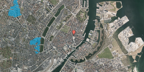 Oversvømmelsesrisiko fra vandløb på Gothersgade 7, 3. , 1123 København K