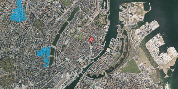 Oversvømmelsesrisiko fra vandløb på Gothersgade 8B, 4. , 1123 København K