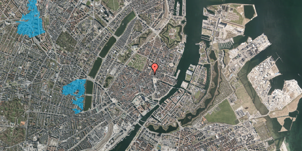 Oversvømmelsesrisiko fra vandløb på Gothersgade 10A, 2. , 1123 København K