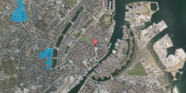 Oversvømmelsesrisiko fra vandløb på Gothersgade 13, st. 1, 1123 København K