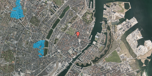 Oversvømmelsesrisiko fra vandløb på Gothersgade 23, 3. , 1123 København K