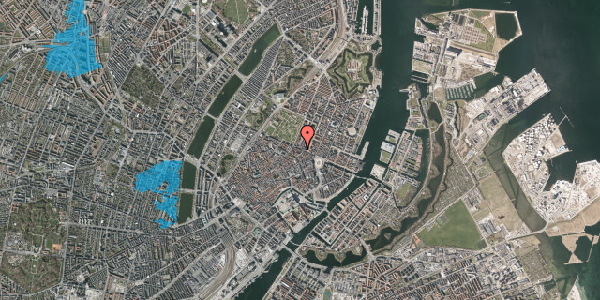 Oversvømmelsesrisiko fra vandløb på Gothersgade 35, 2. , 1123 København K