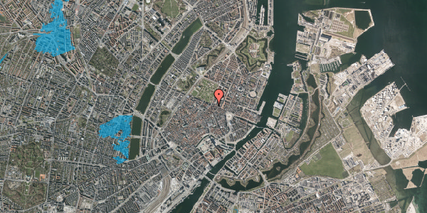 Oversvømmelsesrisiko fra vandløb på Gothersgade 43, 4. , 1123 København K