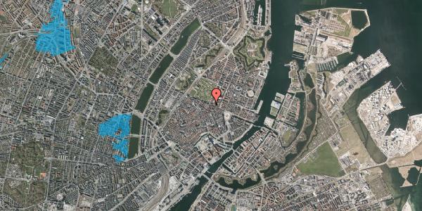 Oversvømmelsesrisiko fra vandløb på Gothersgade 45, st. th, 1123 København K