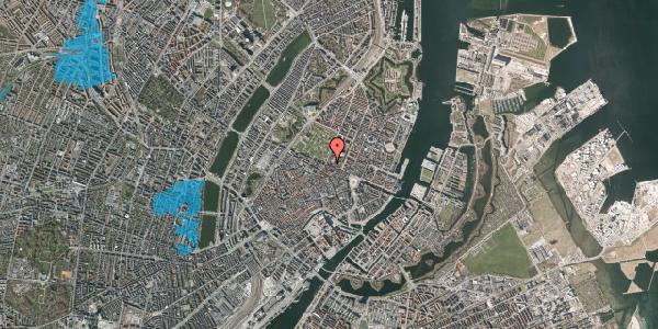 Oversvømmelsesrisiko fra vandløb på Gothersgade 54, 1. 1, 1123 København K