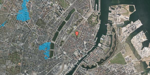 Oversvømmelsesrisiko fra vandløb på Gothersgade 87, st. , 1123 København K