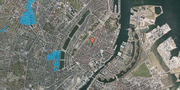 Oversvømmelsesrisiko fra vandløb på Gothersgade 87, 3. , 1123 København K