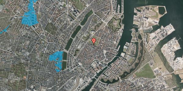 Oversvømmelsesrisiko fra vandløb på Gothersgade 93D, kl. tv, 1123 København K