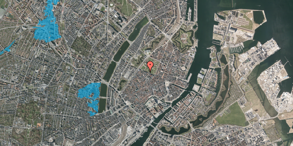 Oversvømmelsesrisiko fra vandløb på Gothersgade 93, 1. th, 1123 København K