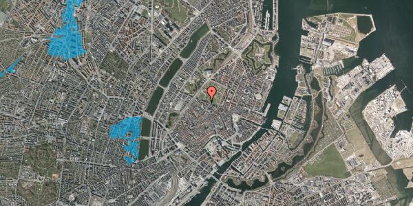 Oversvømmelsesrisiko fra vandløb på Gothersgade 93, 2. th, 1123 København K