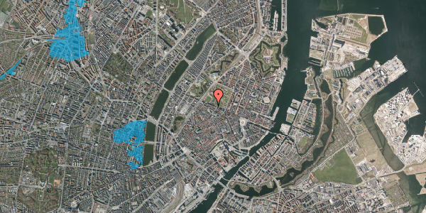 Oversvømmelsesrisiko fra vandløb på Gothersgade 93, 4. tv, 1123 København K