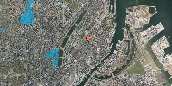 Oversvømmelsesrisiko fra vandløb på Gothersgade 95, 1. th, 1123 København K
