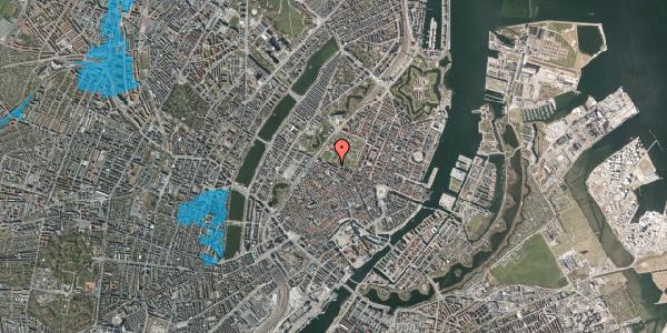 Oversvømmelsesrisiko fra vandløb på Gothersgade 95, 4. th, 1123 København K